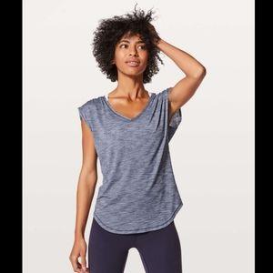 Lululemon Sweat Times Short Sleeve Size 8 EUC